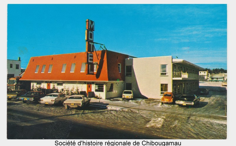 <p>In 1967, Alfreda and Levis Beaudouin became owners of the Chibougamau Inn. Alfreda&rsquo;s dynamism and business acumen made her the first female president of the Quebec Hoteliers Association in 1976. When her husband&rsquo;s health deteriorated, Alfreda sold the H&ocirc;tel Chibougamau in 1984.<br /><br />Full reference for the photo: The Chibougamau Inn hotel/motel in 1972. P41 Fonds Ange-H&eacute;l&egrave;ne Tremblay.</p>