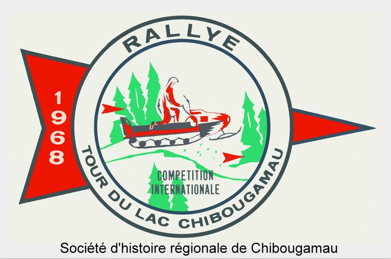 <p>The first edition of Chibougamau&rsquo;s international snowmobile rally was held in 1967. Known as the Festival Folifrets Chibougamau Baie-James since 2009, it still draws an enthusiastic crowd, with its snowmobile competitions, including a 250-km cross country race around Chibougamau Lake, a vintage snowmobile pageant and outdoor festivities. With the years, the course was lengthened and now covers 345 km and goes through the neighbouring Cree communities. The 2014 edition attracted nearly 17,000 participants and visitors.<br /><br />Full reference for the photo: Logo of the Rally international d&rsquo;autoneige de Chibougamau in 1968. P42 Fonds Rallye internationale d&#39;autoneige de Chibougamau.</p>