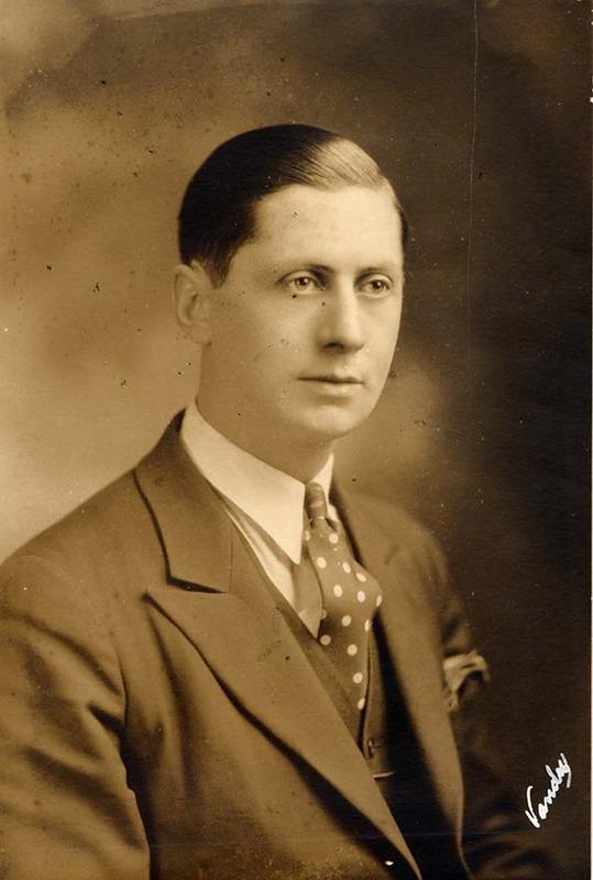 <p>Lucien L&eacute;vesque, 1907-1996<br />(Archives famille Charles LeBel)</p>