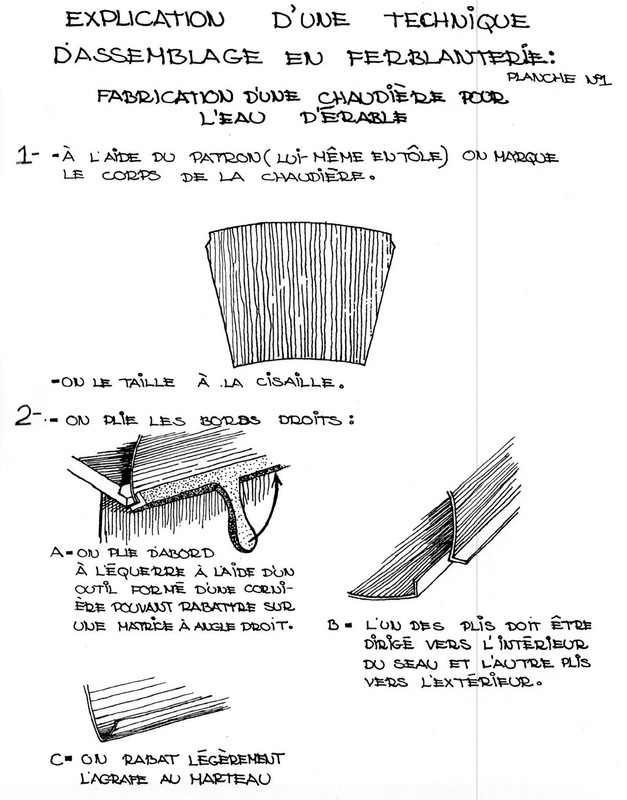 <p>Les artisans traditionnels de l&#39;est du Qu&eacute;bec. Bernard Genest, Ren&eacute; Bouchard, Lise Cyr et Yvan Chouinard. Qu&eacute;bec, minist&egrave;re des Affaires culturelles, Direction g&eacute;n&eacute;rale du patrimoine, 1979. 391 p., (Coll.&quot;Cahiers du Patrimoine&quot;, n&deg; 12). Page 49 &agrave; 55.</p>