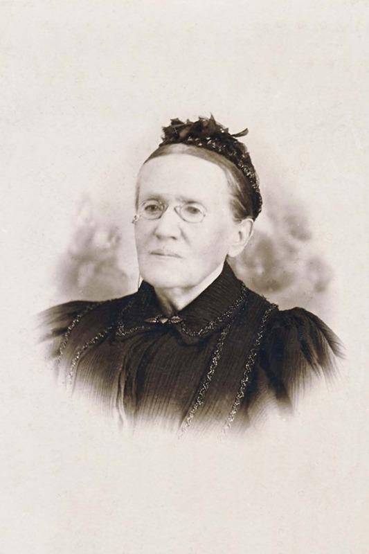 <p>Marie Gauvreau Dionne.<br />(Archives famille Norbert-&Eacute;. Dionne)</p>