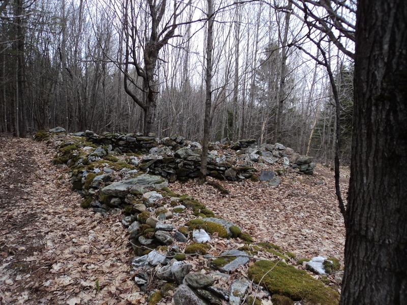 <p>Cl&ocirc;tures rocheuses traditionnelles, elles d&eacute;fininissent le terrain du cimeti&egrave;re. Elles sont typiques de l&#39;occupation des terres par les irlandais.<br /><br />Source : Banque d&#39;images de Saint- S&eacute;verin (2013)</p>