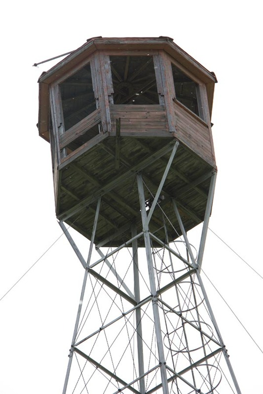 <p>Still in place today, the fire tower is a well-preserved piece of our heritage.</p>