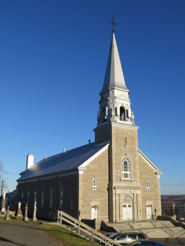 <p>The bishop of Quebec City, Fran&ccedil;ois de Laval, canonically erected the Saints-Anges-Gardiens parish in 1678. The designation L&rsquo;Ange-Gardien, after which the municipality was named, emerged at the end of the 17th century. The parish&rsquo;s first chapel was made of wood and located down at the bottom of the village. It was replaced by the first local church, built in 1674. In the 1710s, this church was replaced by a second church that was built on a promontory overlooking the village; however, the second church was destroyed by fire in 1930. Markings on the road in front of the present-day church indicate the site where the second church once stood.<br /><br />Picture: Current church of L&rsquo;Ange-Gardien (Bergeron Gagnon inc, 2015. Inventaire du patrimoine b&acirc;ti de la MRC de La C&ocirc;te-de-Beaupr&eacute;)</p>