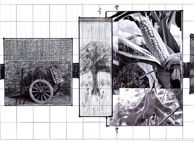 <p>Croquis r&eacute;alis&eacute; par l&#39;artiste Denise Gazaille.</p>