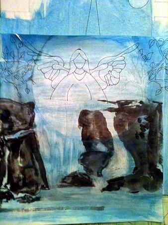 <p>Croquis r&eacute;alis&eacute; par l&#39;artiste Tina Rose Bastien.</p>