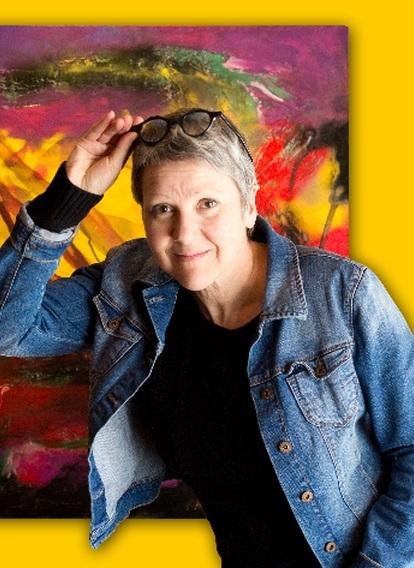 <p>Artiste passionn&eacute;e, la passion dans l&rsquo;artiste.<br /><br />Native de Frelighsburg dans les Cantons de l&#39;Est, elle est dipl&ocirc;m&eacute;e en art plastique de l&rsquo;UQAM et en design int&eacute;rieur du Coll&egrave;ge Champlain de Sherbrooke. Elle a a son actif plusieurs expositions solos et en groupe au Qu&eacute;bec et en France.<br /><br />C&#39;est en travaillant en r&eacute;adaptation en d&eacute;ficience intellectuel qu&#39;elle d&eacute;couvre que son talent peut faire vibrer l&#39;imaginaire de cette client&egrave;le.<br /><br />R&eacute;sidant au Canton de Roxton, elle s&#39;implique dans diff&eacute;rents organismes et comit&eacute;s culturels r&eacute;gionaux et a un atelier d&#39;art au Th&eacute;&acirc;tre de la Dame de C&oelig;ur &agrave; Upton o&ugrave; elle anime des ateliers de peinture&nbsp; pour enfants.</p>