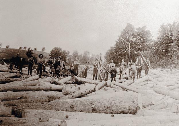 <p>La drave au canton de Roxton.<br />Source: Association touristique de Roxton Falls.</p>