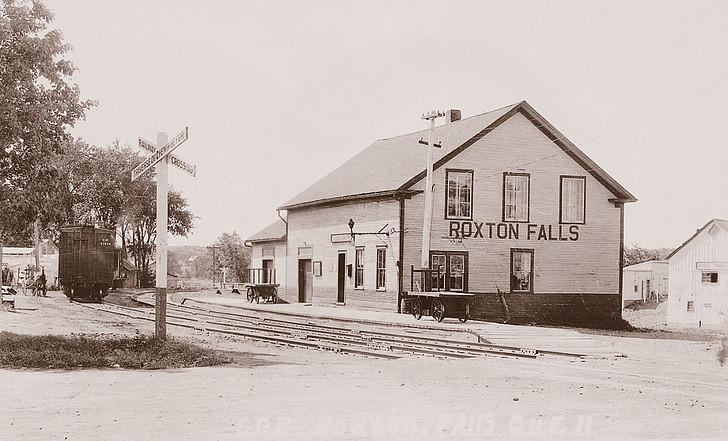 <p>Gare du CP.<br />Source: Association touristique de Roxton Falls.</p>