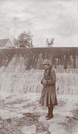 <p>Le barrage.<br />Source: Monique Parenteau.</p>