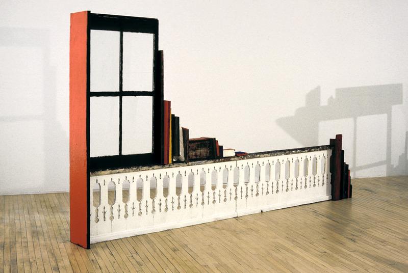 <p>&laquo;Balustrade&raquo; une des sculptures pr&eacute;sentes &agrave; l&rsquo;exposition &laquo;Morceaux choisis&raquo;, en 1995, &agrave; la Galerie Circa.<br /><br />Photo Guy L&rsquo;Heureux</p>