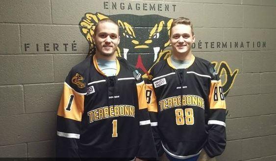 <p>Les deux hockeyeurs natifs de Saint-Odilon ont &eacute;volu&eacute; au sein de la Ligue junior majeur du Qu&eacute;bec.<br /><br />Source : Inconnue (novembre 2015)</p>