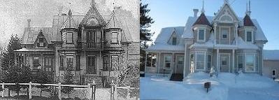 <p>La Station est devenue une banlieue de Saint-Victor. Plus encore, un carrefour. Des gens comme Sim&eacute;on Bolduc, un fr&egrave;re du forgeron Makel &agrave; Capson mari&eacute; &agrave; Marie-Louise Bolduc, la s&oelig;ur du s&eacute;nateur, ont quitt&eacute; le Rang 3 Nord pour s&rsquo;y installer. Leur maison, construite &agrave; la fin du XIXe si&egrave;cle, est une maison patrimoniale que l&rsquo;on appelle &laquo; notre ch&acirc;teau de bois &raquo;, de style Queen Anne, &agrave; pignon central, avec cuisine d&rsquo;&eacute;t&eacute; et fournil en arri&egrave;re. Elle rappelle l&rsquo;&eacute;poque victorienne. La maison &eacute;tait &eacute;clair&eacute;e au gaz, et le sous-sol &eacute;tait fait de pierres taill&eacute;es provenant de la carri&egrave;re du S&eacute;nateur, le fr&egrave;re de madame.<br /><br />Pour en savoir davantage, nous vous invitons &agrave; consulter les 2 panneaux de m&eacute;moire, install&eacute;s &agrave; cette adresse entre avril et octobre de chaque ann&eacute;e.<br /><br />Source: Soci&eacute;t&eacute; du Patrimoine de Saint-Victor-de-Beauce</p>