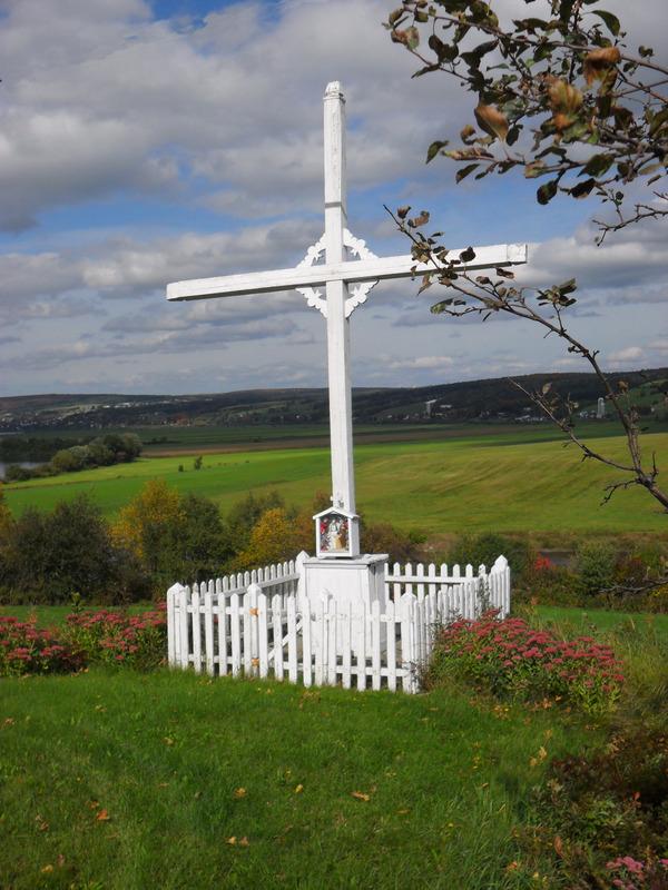 <p>Il y a deux croix de chemin dans la municipalit&eacute;.&nbsp; Elles symbolisent la forte appartenance religieuse du peuple &agrave; une certaine &eacute;poque.<br /><br />Source: Inconnue</p>