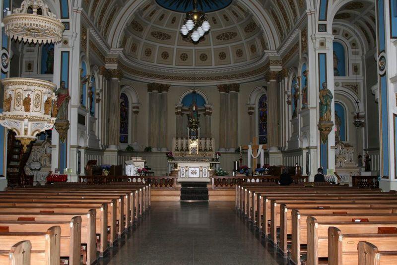 Pour répondre aux besoins grandissants de la population, on assiste à la création d'une troisième église en 1841, l'Église la nativité de la Sainte Vierge, encore présente aujourd'hui.
