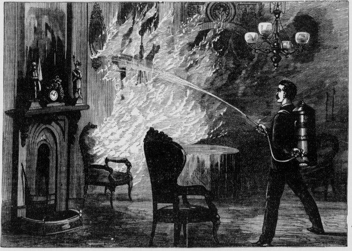 Le mardi 4 août 1846, des flammes ravagent le village de La Prairie. Faute d'entretien, les pompes à feu ne fonctionnent pas. Seulement une vingtaine de bâtiments échappent au désastre.