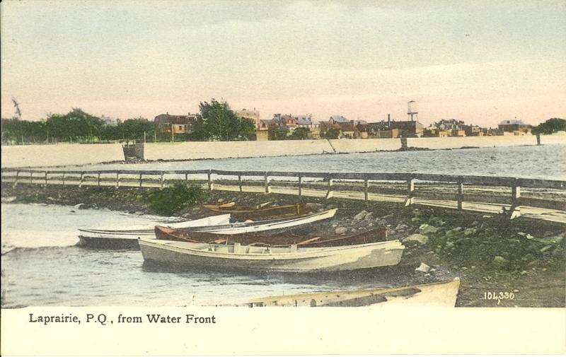 À la fin du 19e siècle, un mur de protection et une digue de terre d'une quinzaine de pieds sont érigés. Mais d'autres inondations se reproduiront dans les années subséquentes.