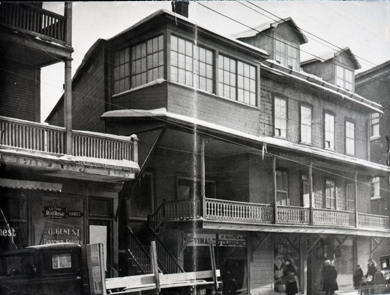 First Setlakwe Store in 1930.<br /><br />Picture source: CART - Fonds Jacques Fug&egrave;re