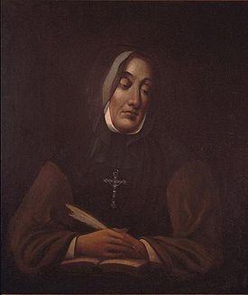 Marguerite D'Youville, fondatrice des Soeurs Grises.