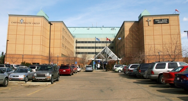 The Grey Nuns Hospital today, located in Edmonton.
