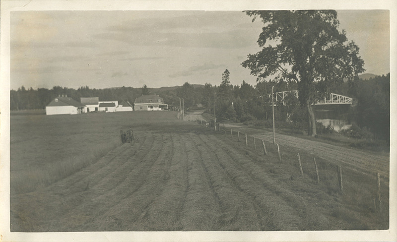 <p>Farm near Clark&#39;s bridge, on Murphy Road.</p>
