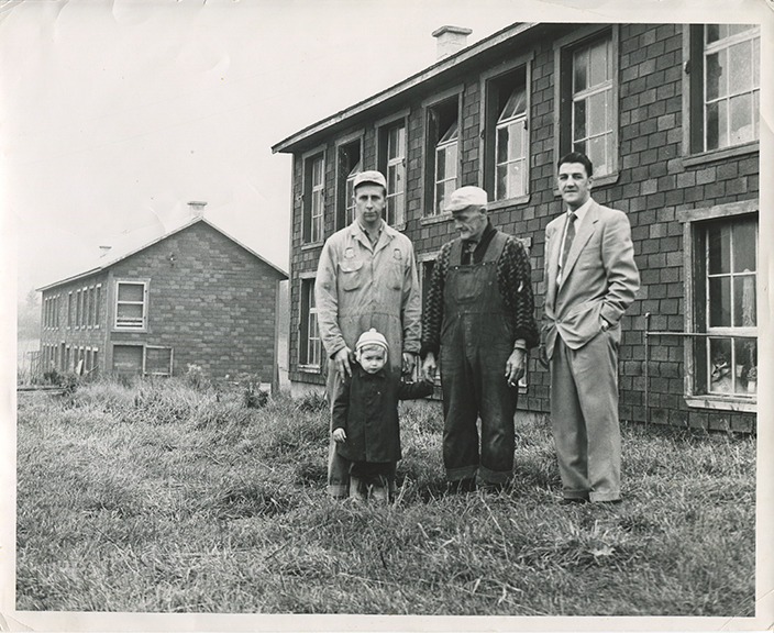 <p>Three generations of farmers. (1956)</p>