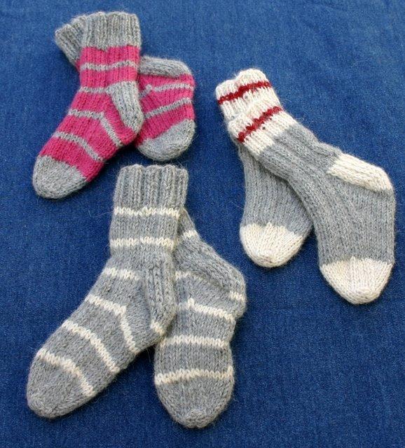 Socks composed of alpaca wool are sold on the premises.