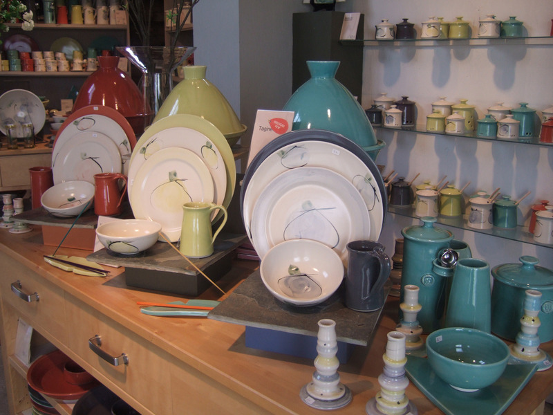 A glimpse of the craft products available on site...
