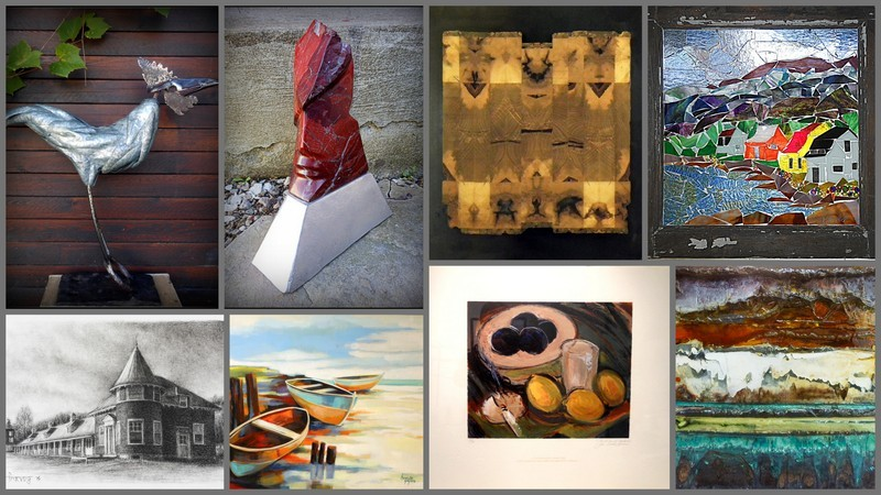 Discover paintings, carvings, jewellery, pottery, textile and much more.
