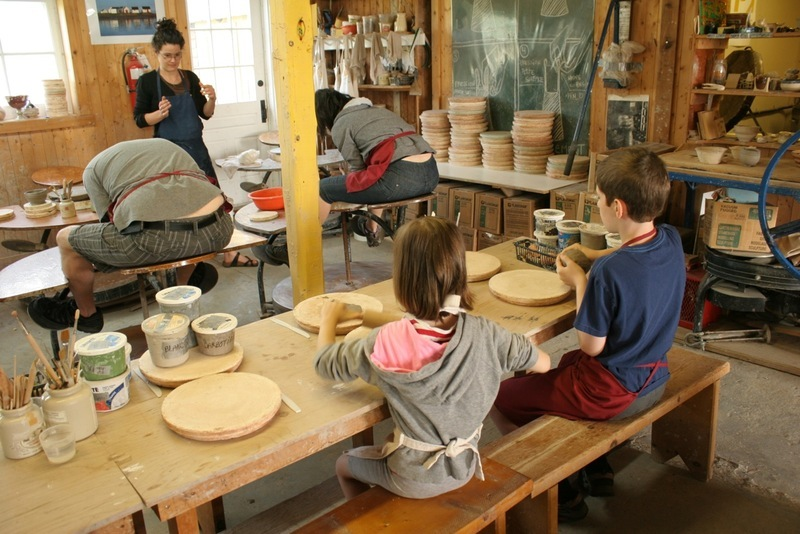 Over the years, in this high place of ceramic, lots of potters and creamists are trained. Many of them now showcase in our gallery-shop, which also displays the creations of about fifty emerging Québécois artists as well as the collection Poterie de Port-au-Persil, created on site.