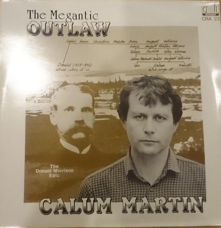 Nos recherches sur Internet nous&nbsp;ont permis de retracer M. Calum Martin, lointain parent de Donald Morrison qui vit sur l&#39;&icirc;le de Lewis en &Eacute;cosse.&nbsp;En communiquant avec lui, il nous a&nbsp;expliqu&eacute;&nbsp;que son grand-p&egrave;re et son p&egrave;re lui ont racont&eacute; la l&eacute;gende de Donald Morrison. Inspir&eacute; par ces aventures hors du commun,&nbsp;M. Martin&nbsp;a d&eacute;cid&eacute; en 1983 de rendre hommage &agrave; son anc&ecirc;tre en produisant un&nbsp;disque vinyle 33 tours en Ga&eacute;lique relatant l&#39;histoire de son anc&ecirc;tre. Puis, en 2007, il a&nbsp;&nbsp;reproduit ce disque sous forme de CD .&nbsp;<br /><br />Remarquez les similitudes entre les yeux de Donald et ceux de Calum!&nbsp;<br /><br />Le CD est en vente au Mus&eacute;e au co&ucirc;t de 20.00 $