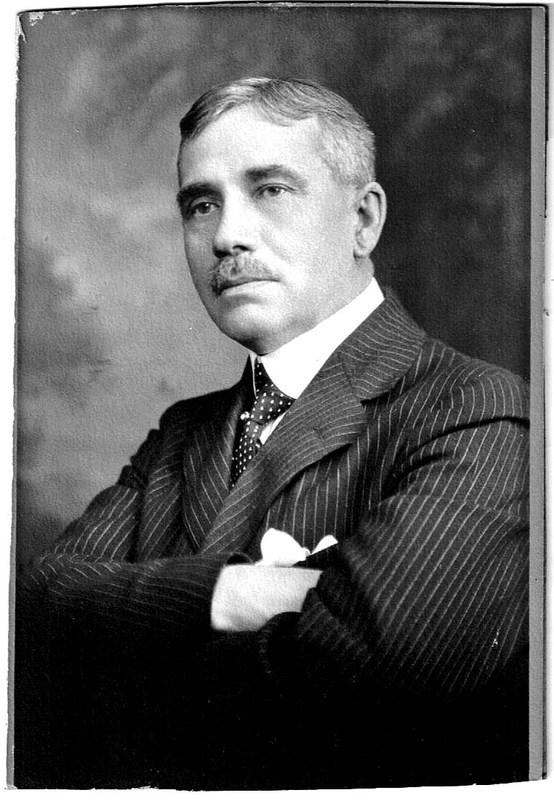 Cette photo de Monsieur Grant a été utilisée pour l'illustration du personnage érigé dans la municipalité de Batiscan.