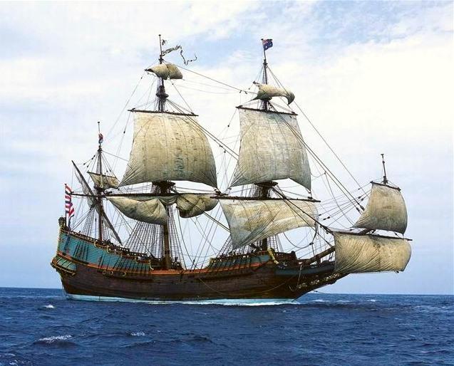 Marie Raclot est arrivée au pays avec sa famille en 1671, probablement sur un bateau semblable à celui-ci!