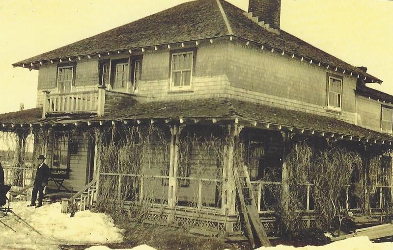 La maison de Pierre-Alfred lors de l'achat de la Radnor en 1930. Rénovée à quelques reprise.