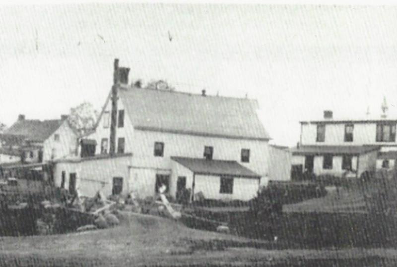 C&#39;est le 14 juin 1894 que fut d&eacute;couverte la source d&rsquo;eau min&eacute;rale Radnor, &agrave; quelques pas des forges de la Canada Iron Co. La premi&egrave;re usine fut construite la m&ecirc;me ann&eacute;e. Pierre-Alfred est entr&eacute; au service de la compagnie en 1897 &agrave; l&rsquo;&acirc;ge de 13 ans et il y travailla durant dix-sept ans. La photo date de 1900.<br />Les directeurs des forges d&eacute;cid&egrave;rent imm&eacute;diatement d&rsquo;exploiter commercialement cette eau limpide. Le 12 septembre de la m&ecirc;me ann&eacute;e, le d&eacute;partement des brevets du Canada autorise la compagnie &agrave; imprimer une marque de commerce avec ces mots : &laquo; Radnor, Reine des eaux &raquo;. Une couronne imp&eacute;riale formait le centre de la vignette. Le 20 novembre, le d&eacute;partement de l&rsquo;Agriculture sanctionnait ce brevet.
