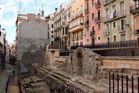 D'autres vestiges du cirque romain de Tarraco.