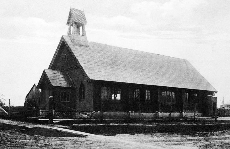 Cette église protestante a été démolie en 1940 pour permettre l'élargissement du boulevard Taschereau