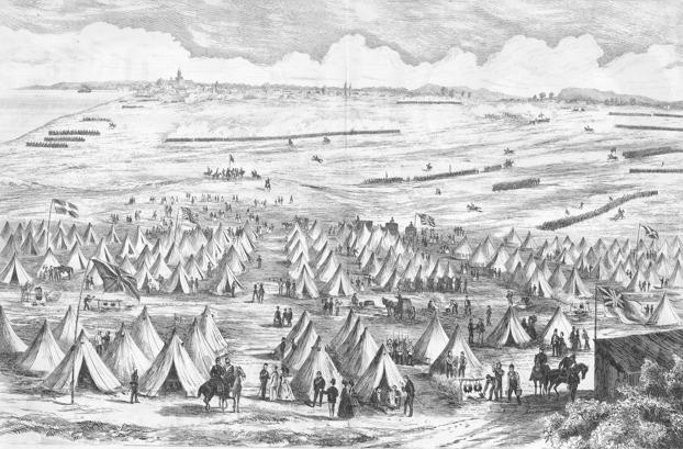 Le début des camps de volontaires coïncide avec le départ des troupes britanniques du Canada.
