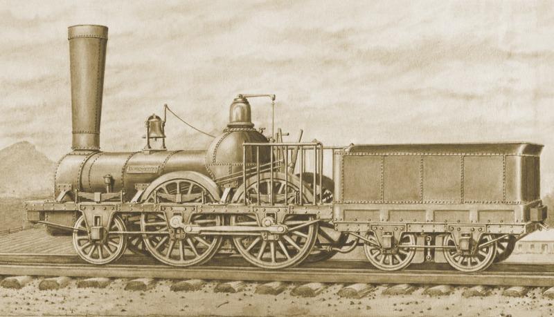 &Agrave; compter du 21 juillet 1836, la locomotive Dorchester de la Champlain &amp; St. Lawrence Railroad assure la liaison par chemin de fer entre La Prairie et Saint-Jean-sur-Richelieu.&nbsp;Peu fiable et peu performante, la Dorchester est remplac&eacute;e apr&egrave;s quelques ann&eacute;es.&nbsp;<br /><br />Apr&egrave;s un court boom &eacute;conomique, construction d&rsquo;h&ocirc;tels et d&rsquo;un second quai ferroviaire situ&eacute; dans le prolongement de la rue Saint-Henri, le grand feu de 1846 ainsi que les ouvertures de la ligne Montr&eacute;al-Portland (1853) et du pont Victoria (1860) mettent fin aux activit&eacute;s du chemin de fer dans le village de La Prairie.<br /><br />Vers 1880 et jusqu&rsquo;&agrave; la fin des ann&eacute;es 1950, une nouvelle gare construite par le Grand Tronc refait de La Prairie une escale ferroviaire.