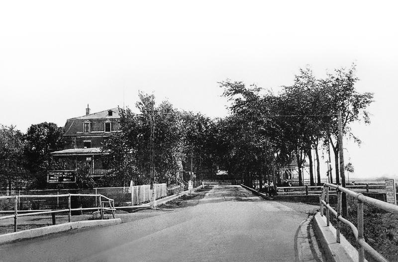 Le boulevard Édouard VII permettait aux voyageurs d'atteindre la frontière américaine via Saint-Philippe.