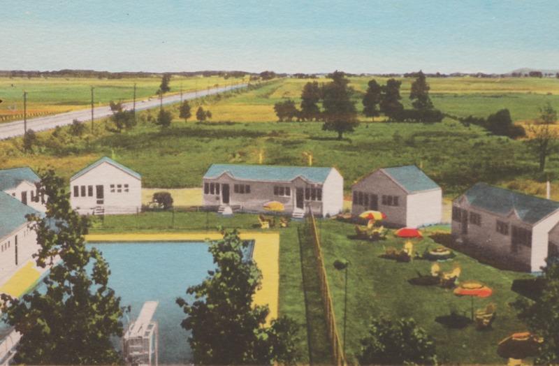 Avec l'essor de l'automobile, les cabines et les motels se sont multipliés tout aulong des principales voies de circulation de La Prairie.