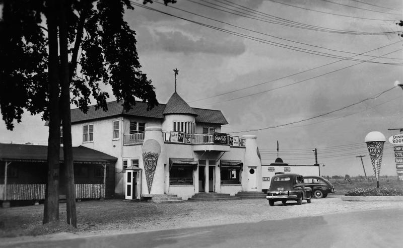 De nombreux adolescents de La Prairie ont rencontré leur premier amour dans la salle de danse de cet établissement, à l'emplacement de lalaiterie la Magdeleine.