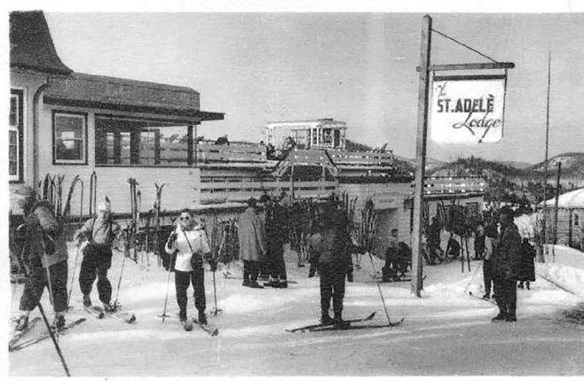 Dix ans plus tard, Irene Maud Hutchings et Thomas G. Potter transforment le site en érigeant le Ste. Adele Lodge auquel ils greffent les pavillons The Pines, The Cedar ainsi que diverses infrastructures sportives, dont les pentes de ski très réputées, les 40-80 . On y retrouve également le Red Room, une grande salle de danse attirant de nombreux villégiateurs. Le Ste. Adele Lodge s'inscrit également dans un nouveau concept de développements immobiliers en offrant des terrains tout autour du site.