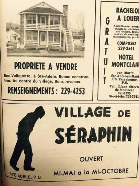 Publication de la vente de la maison de pierre.