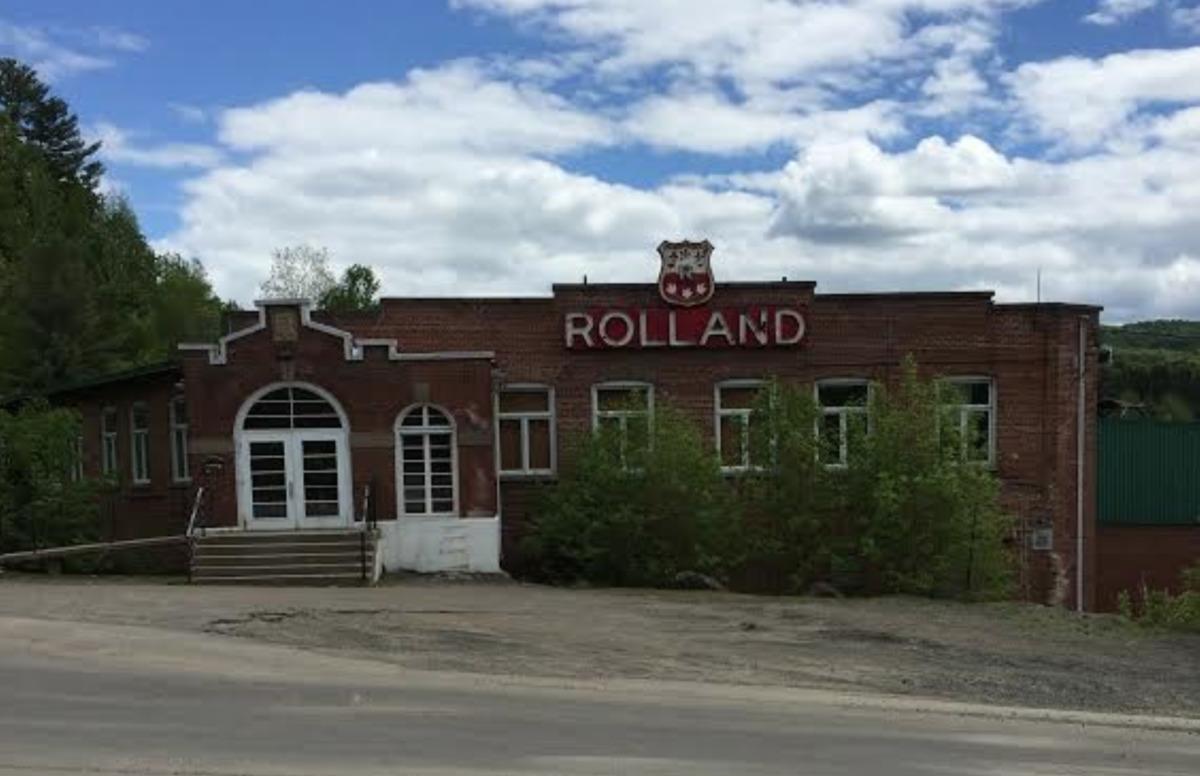Usine La Rolland située au 2685, rue Rolland