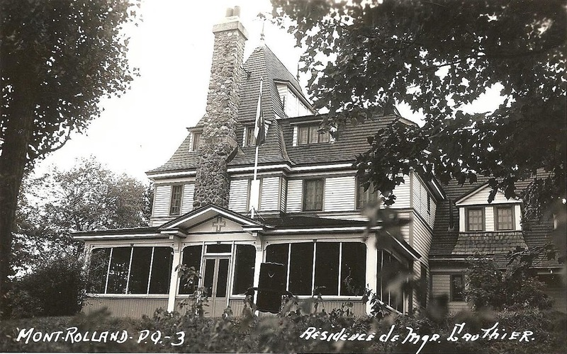 In 1924, Mgr. Gauthier acquired different lots with a right of passage to the river to build a vacation home. He transferred the land and buildings to the Institut Notre-Dame du Bon-Conseil. The Little Sisters of the Assumption inherited the site a few years later. It was not until 2003 that the building became an inn.<br /><br />This spacious residence has a hipped roof with steep pitches. The residence features a central spiral staircase as well as the preserved chapel in the back.