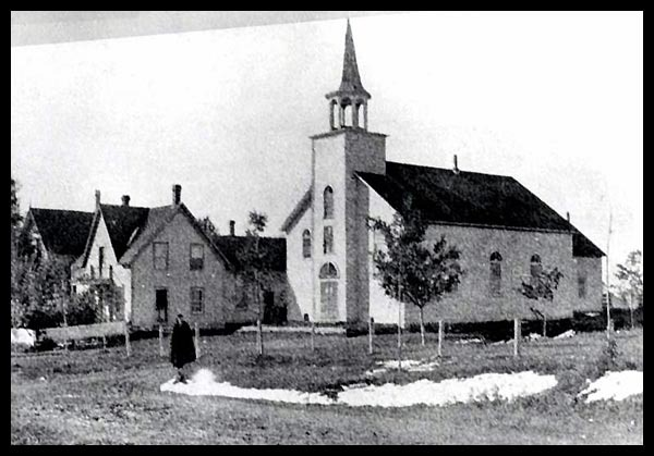Premi&egrave;re chapelle Saint-Patrice.<br /><br />Cr&eacute;dit photo : http://saint-patrice.org