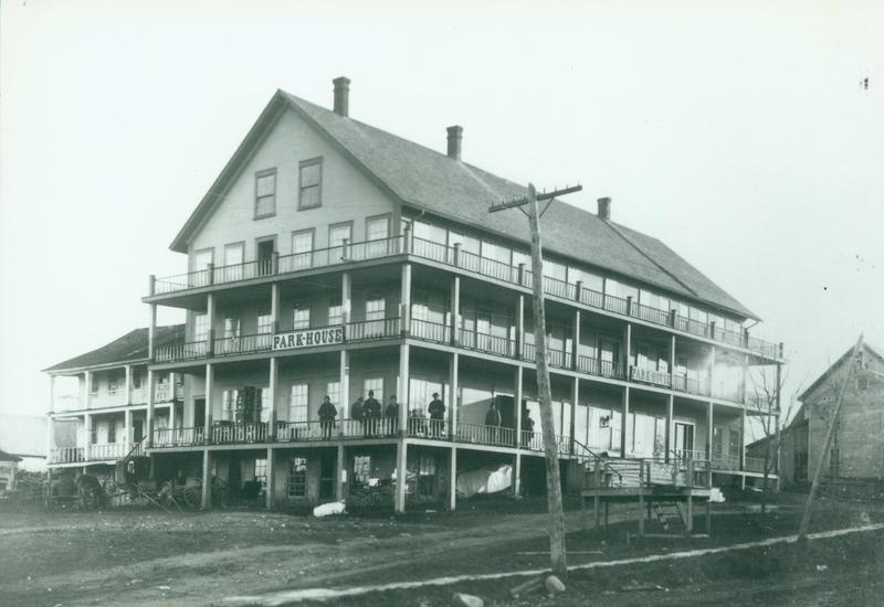 Le Park House en 1870.