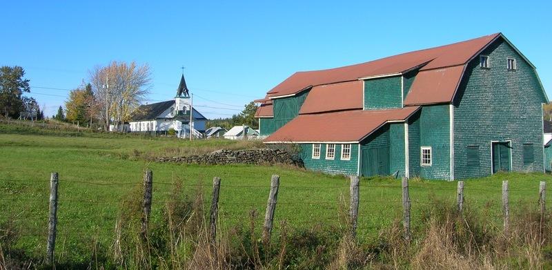<p>Une partie du site historique du Magasin Grenon &agrave; Albertville.&nbsp;<br /><br />Cr&eacute;dit photo Steve Ouellet, CLD de La Matap&eacute;dia<br /><br />&Agrave; 14km (11 min) de Causapscal</p>