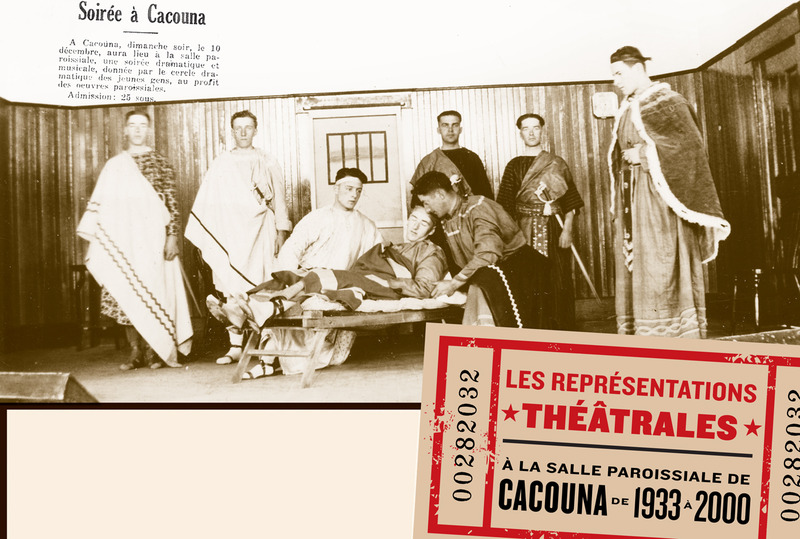 <p>Les com&eacute;diens du Cercle dramatique des jeunes de Cacouna interpr&eacute;tant la pi&egrave;ce &laquo;Le signe de la croix&raquo;, en 1933.<br /><br />Source photo:<br />Photo document &laquo; Les repr&eacute;sentations th&eacute;&acirc;trales &raquo; p. 1<br />Photo: coll. Kathleen Dunnigan.</p>